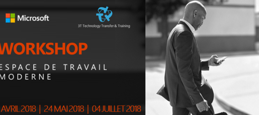 Workshop – Microsoft Office 365 Mobility & Security Tools – Register now !