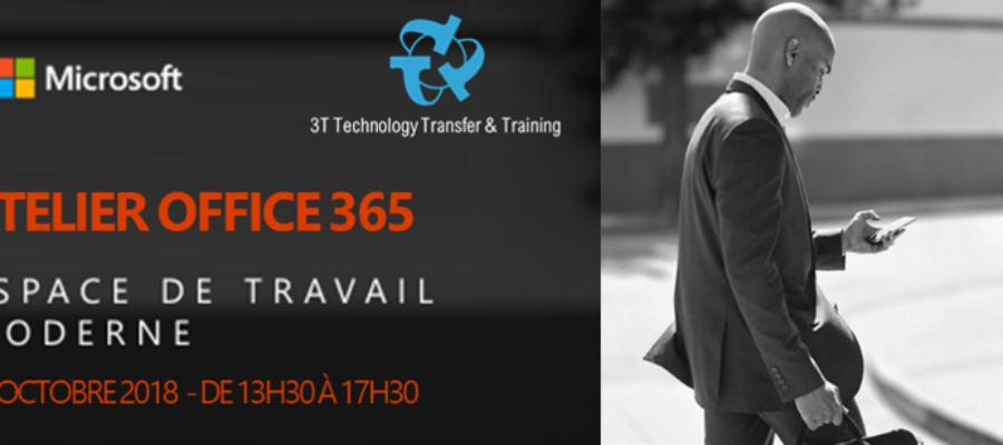 Workshop : Testez les Outils de Mobilité & Sécurité de Microsoft Office 365