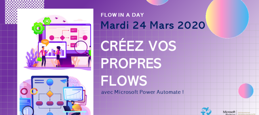 Flow in a Day – Formation sur Microsoft Power Automate
